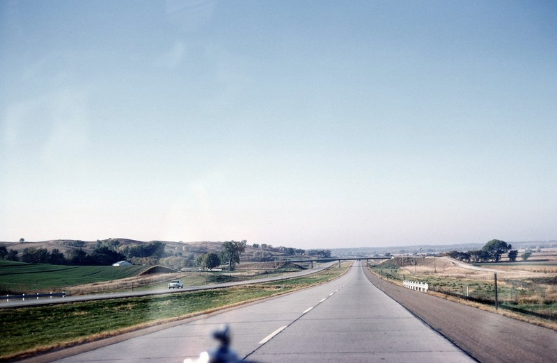 Highway on the flat land
