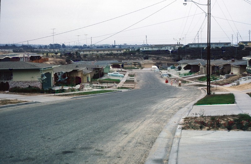 Street dead ends into Fort Ord