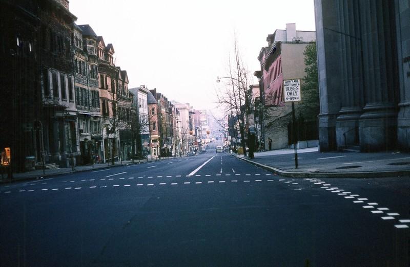 Charles Street at 6 am