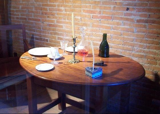 Officer's quarters dining