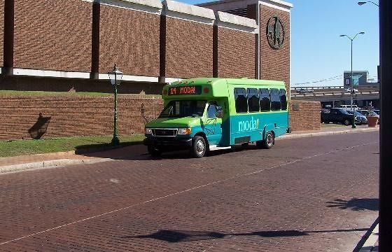 Picture of the bus/trolly