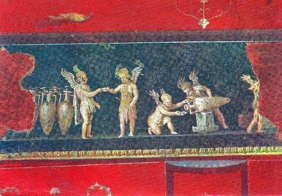 House of the Vetti Vintner Amoreti