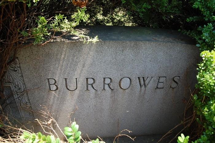 Main Burrowes monument