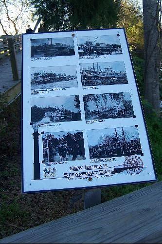 Steamship History poster
