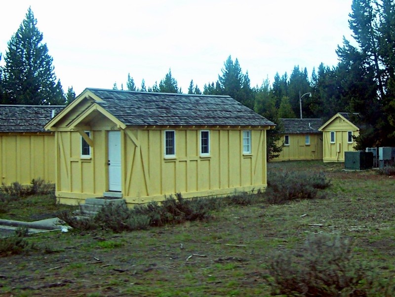 Cabins near the Lake Hotel