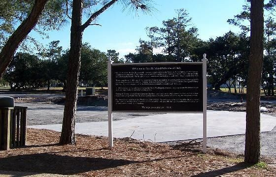 Sign about the Whalehead Club