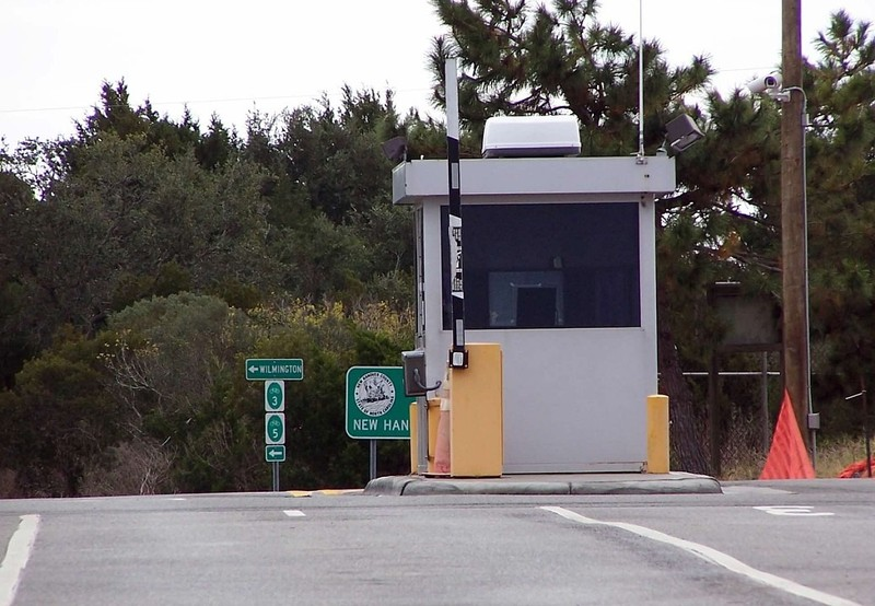 Ferry booth