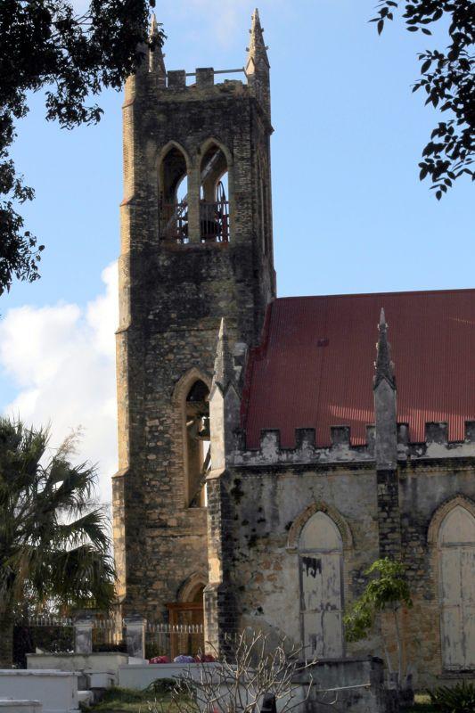 St John's Episcopal  from Christensted Cemetery