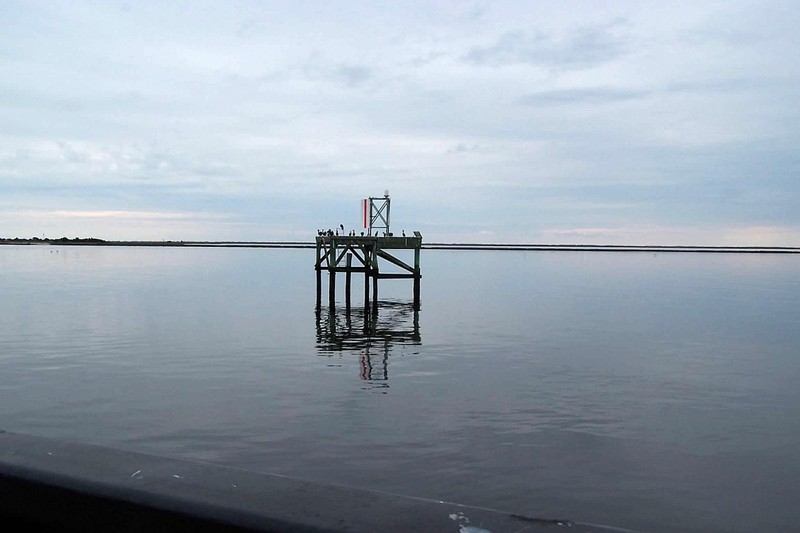 Front range in the Cape Fear River
