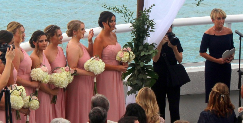 Bridesmaids - granddaughter on far left
