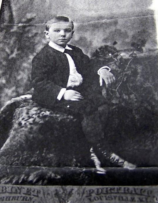 Bob's ancestor as a boy