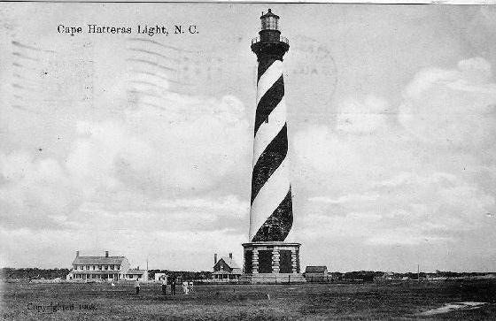 Cape Hatteras Light postcard