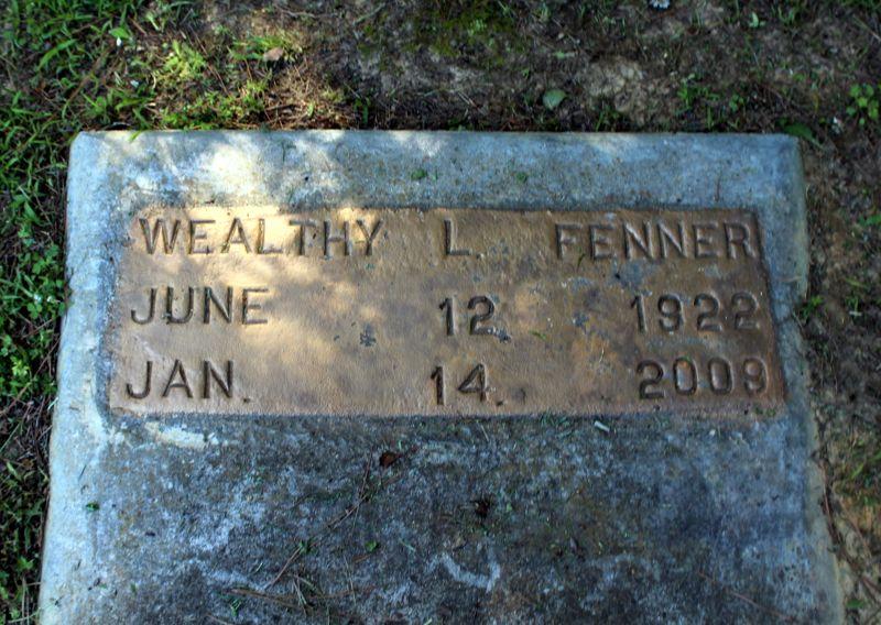 Interesting temporary grave marker