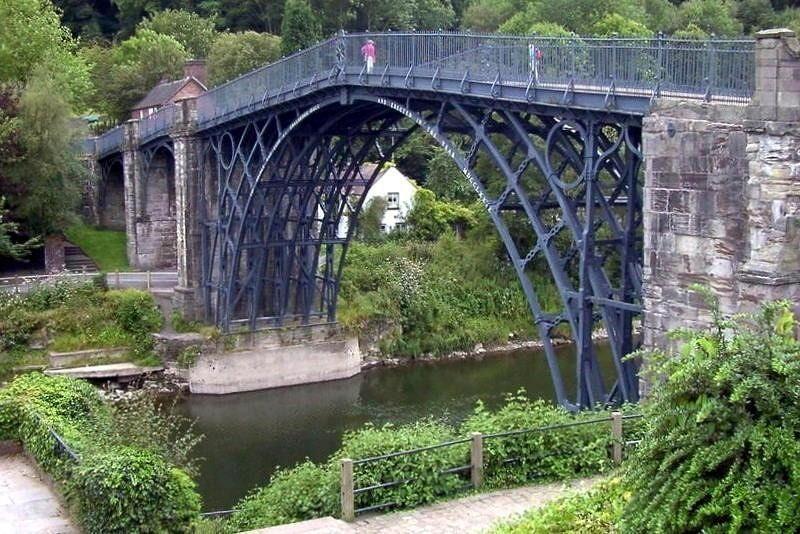 Iron Bridge from downstream