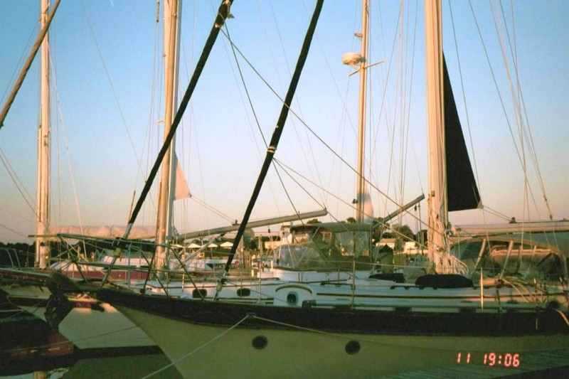 Windstar at the dock