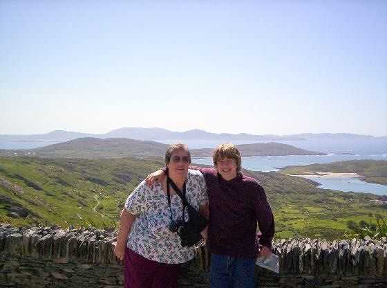 Picture taken after lunch in Caherdaniel