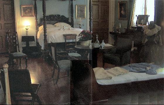 Bedroom through the window