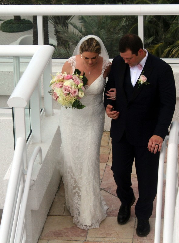 Bride and groom - recessional
