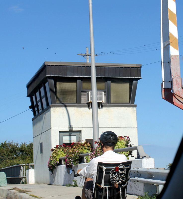 Bridge keeper's house for canal drawbridge