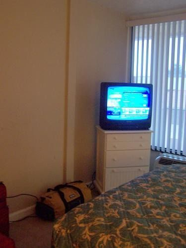 TV in the unit