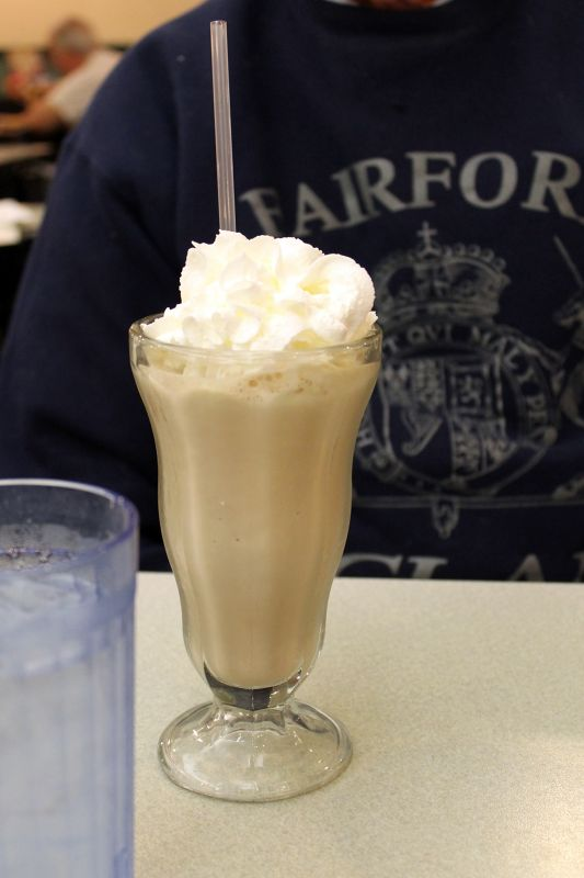 Bob's chocolate Milk shake $3.79