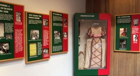 Clothing and exhibits about the drama
