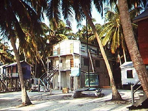 Office of the Ignacio's with golf cart