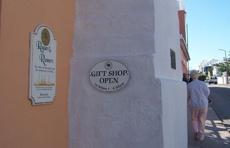 Rum Runner Museum sign