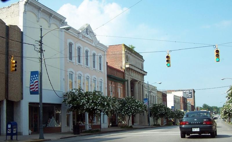 Main Street of Henderson