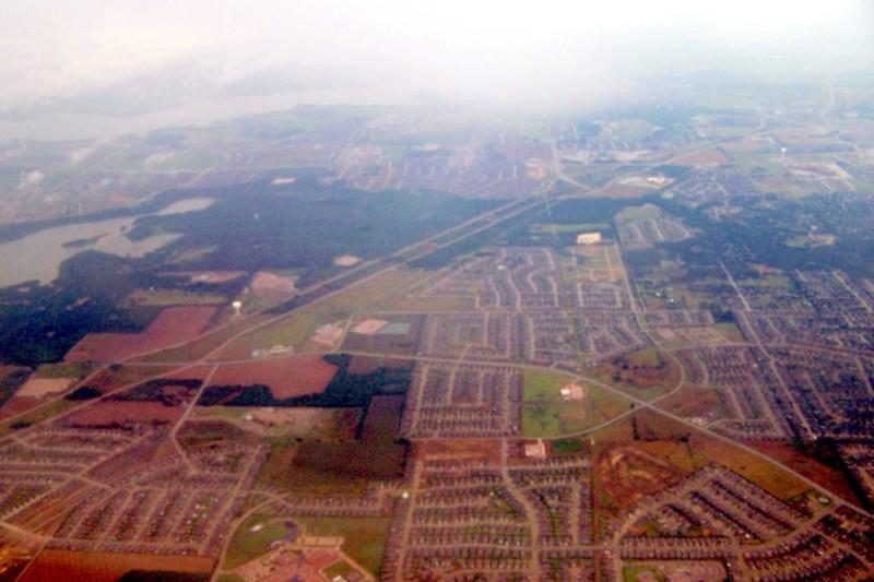 Landing DFW