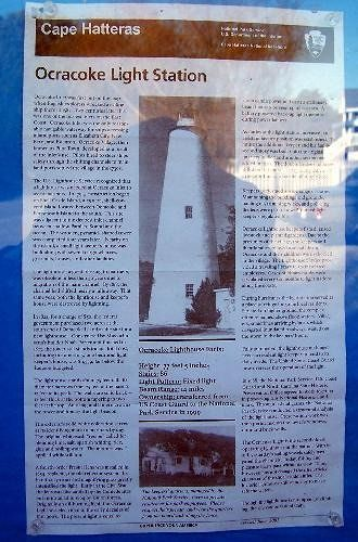 Ocracoke Light Station information
