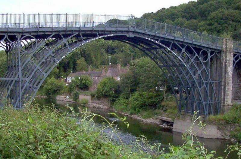 Iron Bridge from upstream