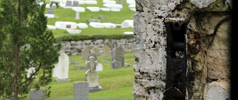 Secretary Road and St. George Parish Cemeteries