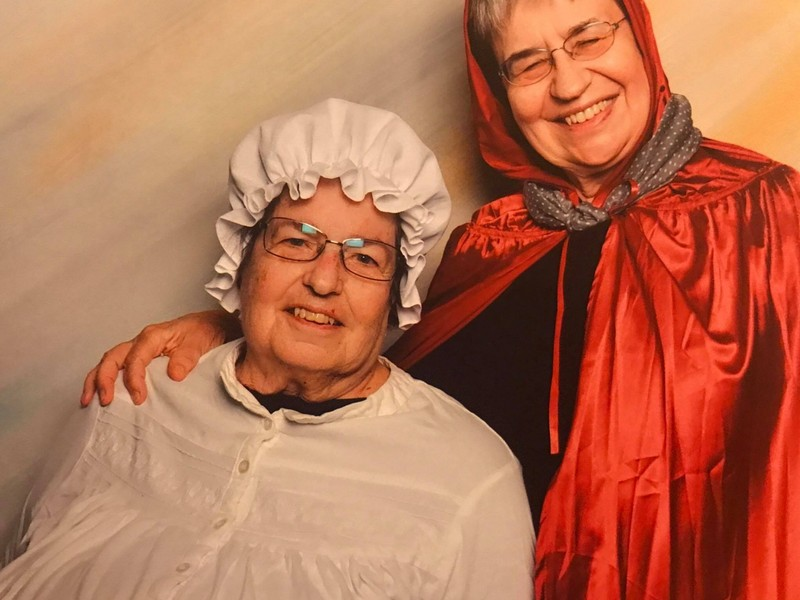 Grandma and Red Riding Hood