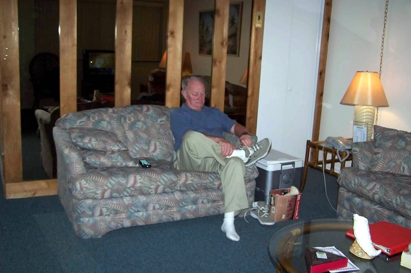 Bob in the living room