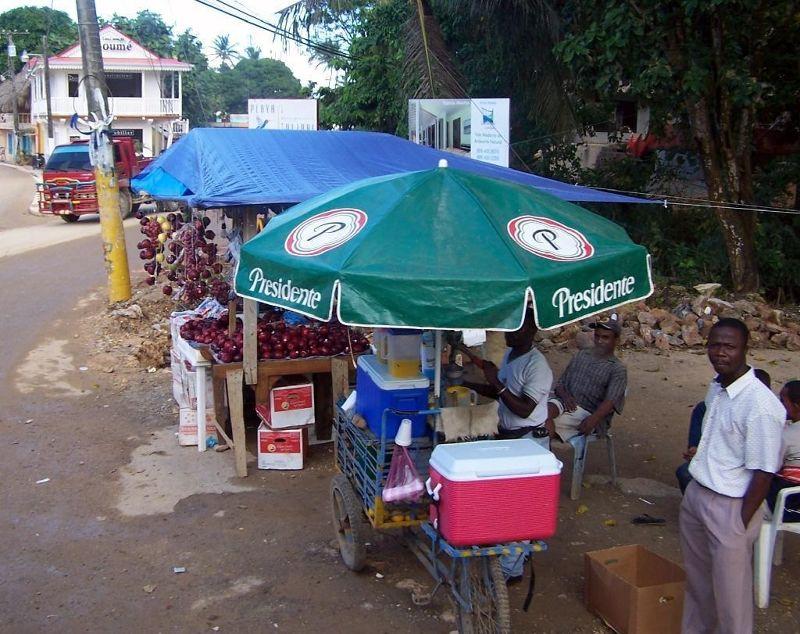 Roadside stand - Las Terrenas