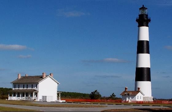Bodie Island Lighthouse and Keeper's Quarters