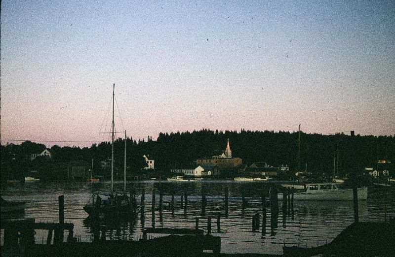 "Picture just labeled ""Harbor"" from 1956 - Bar Harbor"