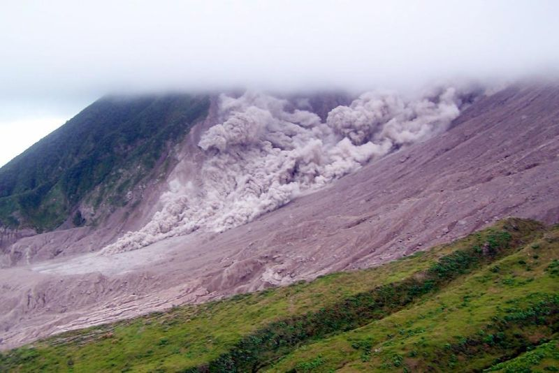 coming down the  mountain - Montserrat