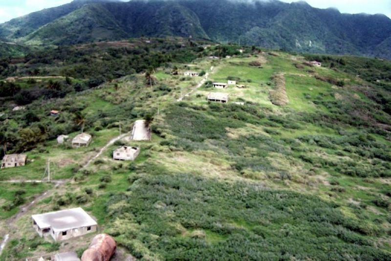 Abandoned Sugar mill - Montserrat