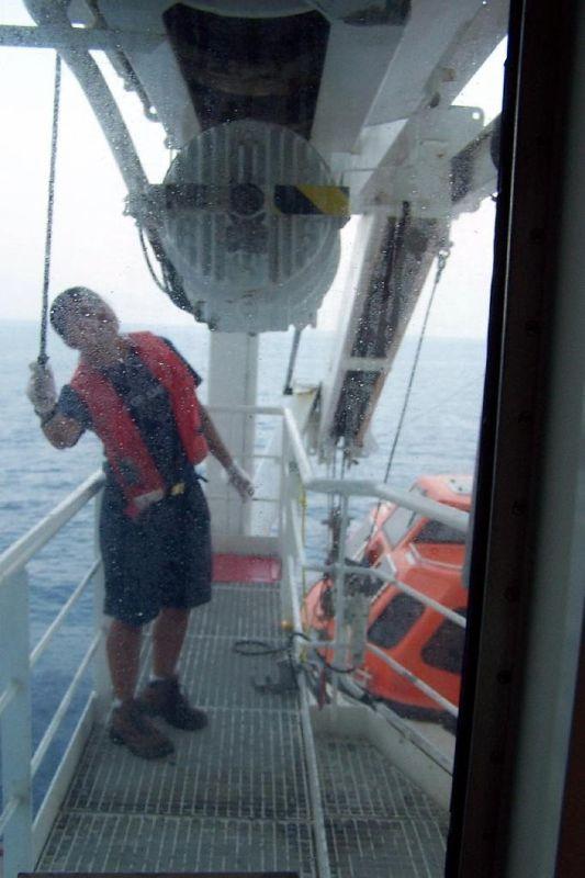 Lifeboat lady