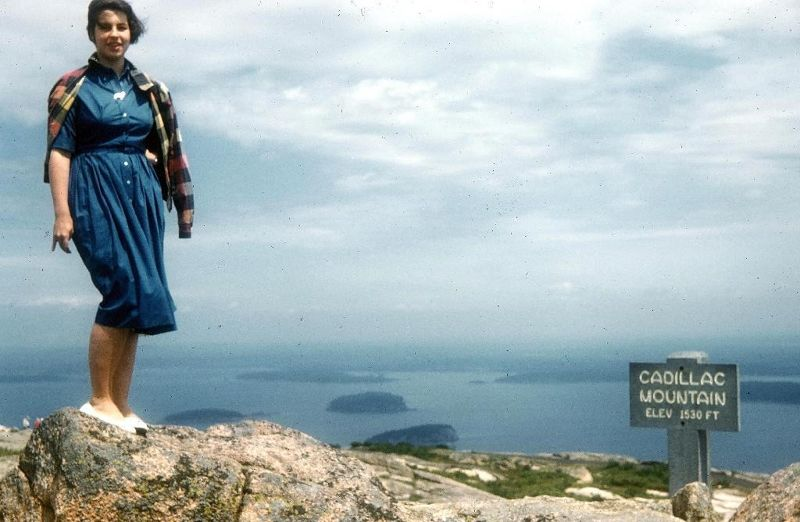 Me in 1956 - Acadia National Park