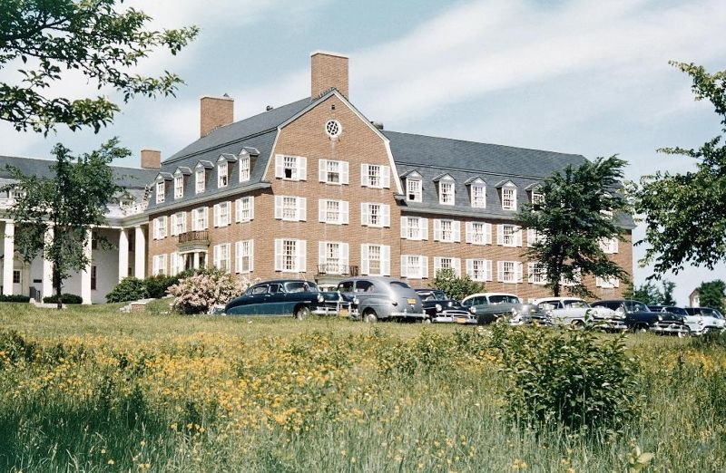 another photo of the dorms - Waterville