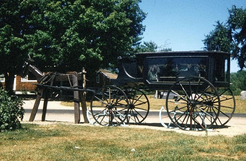 Antique hearse - Augusta