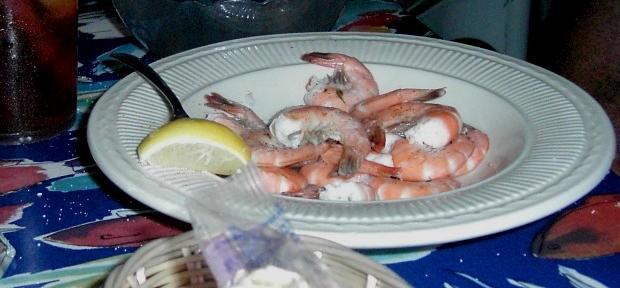 Bob's steamed shrimp