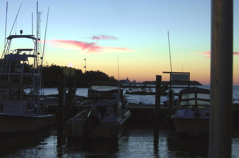 Sunset at Key's Fisheries
