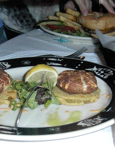 Two Crab Cake Appetizer $8.95