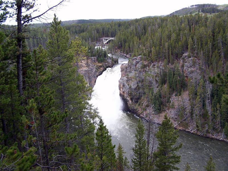 Upper Falls in 2010