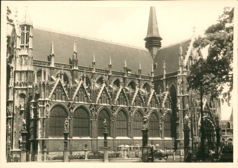Cathedral in Petit Sablou in 1950