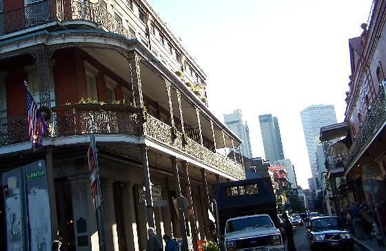 Street in the French Quarter